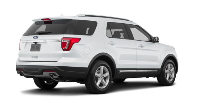 2018 Ford Explorer XLT | Photo 5 | Oxford White
