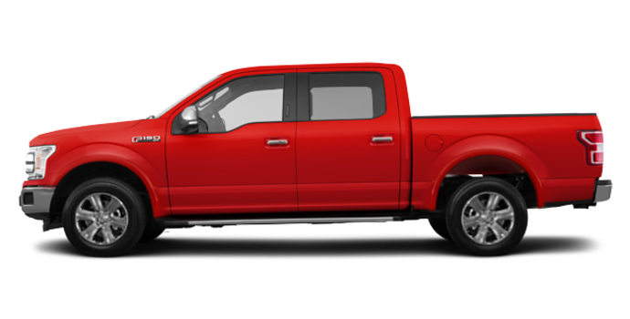2018 Ford F-150 LARIAT   Photo 4   Race Red