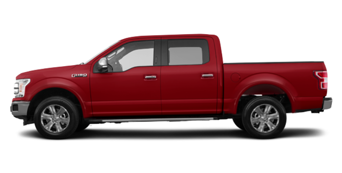 2018 Ford F-150 LARIAT   Photo 4   Ruby Red Metallic