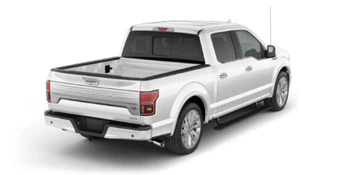 2018 Ford F-150 LIMITED | Photo 5 | White Platinum Metallic