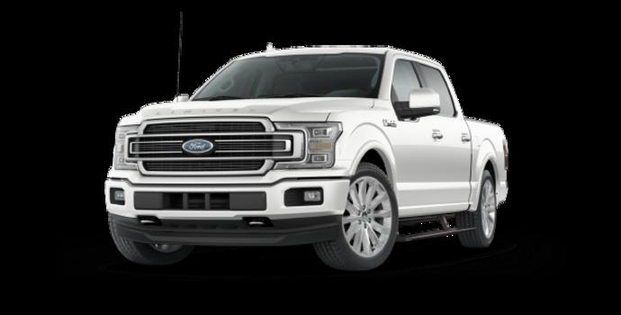 2018 Ford F-150 LIMITED | Photo 6 | White Platinum Metallic