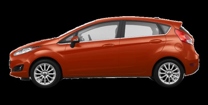 2018 Ford Fiesta Hatchback TITANIUM | Photo 4 | Hot Pepper Red