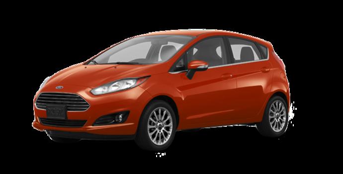 2018 Ford Fiesta Hatchback TITANIUM | Photo 6 | Hot Pepper Red