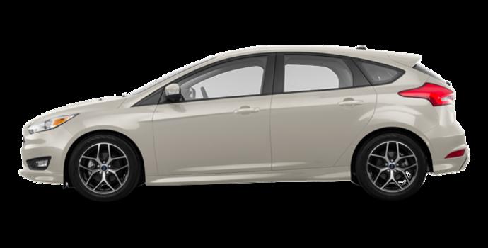 2018 Ford Focus Hatchback SE | Photo 4 | White Gold