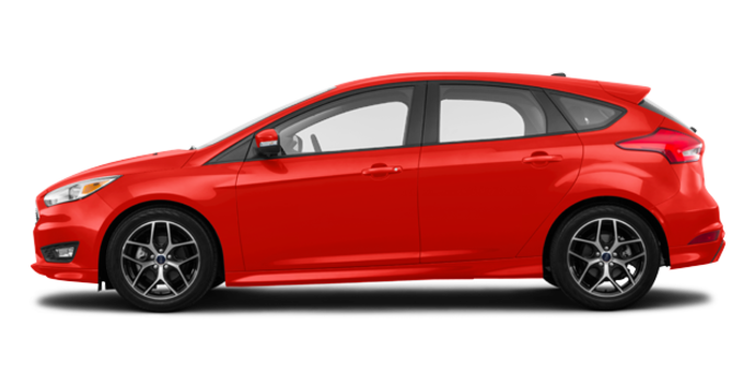 2018 Ford Focus Hatchback SE | Photo 4 | Hot Pepper Red Metallic