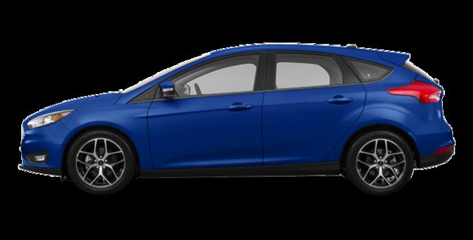 2018 Ford Focus Hatchback SEL   Photo 4   Lightning Blue