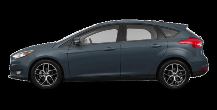 2018 Ford Focus Hatchback SEL   Photo 4   Blue Metallic