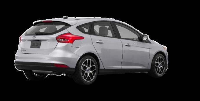 2018 Ford Focus Hatchback SEL   Photo 5   Ingot Silver Metallic