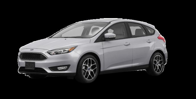2018 Ford Focus Hatchback SEL   Photo 6   Ingot Silver Metallic