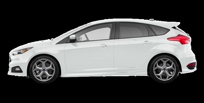2018 Ford Focus Hatchback ST   Photo 4   Oxford White