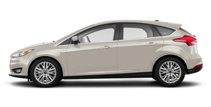 2018 Ford Focus Hatchback TITANIUM | Photo 4 | White Gold