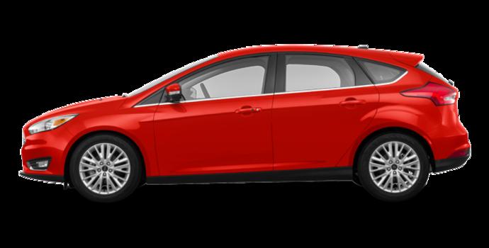 2018 Ford Focus Hatchback TITANIUM | Photo 4 | Hot Pepper Red Metallic