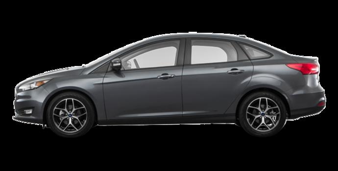 2018 Ford Focus Sedan SEL   Photo 4   Magnetic Metallic
