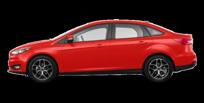 2018 Ford Focus Sedan SEL   Photo 4   Hot Pepper Red Metallic