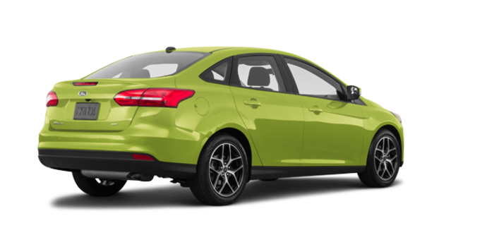 2018 Ford Focus Sedan SEL   Photo 5   Outrageous Green Metallic