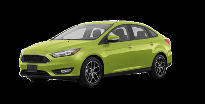 2018 Ford Focus Sedan SEL   Photo 6   Outrageous Green Metallic