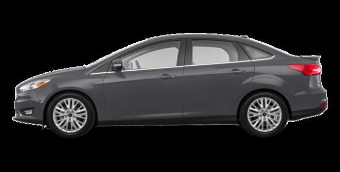2018 Ford Focus Sedan TITANIUM | Photo 4 | Magnetic Metallic