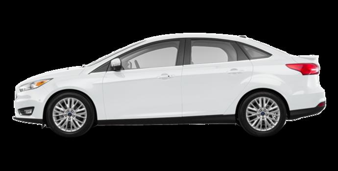 2018 Ford Focus Sedan TITANIUM | Photo 4 | White Platinum Metallic