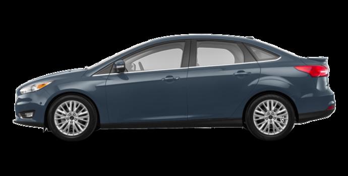 2018 Ford Focus Sedan TITANIUM | Photo 4 | Blue Metallic