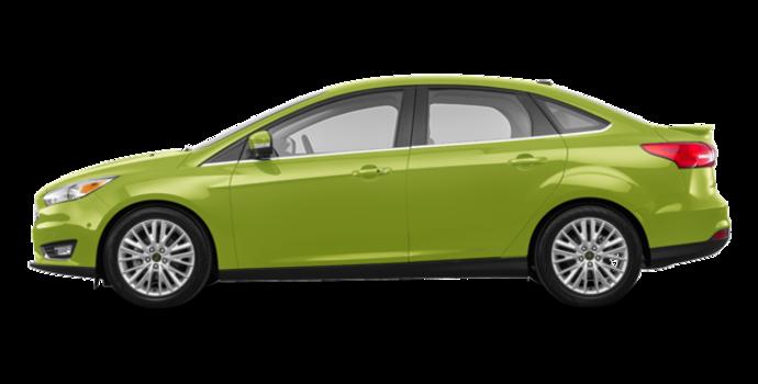 2018 Ford Focus Sedan TITANIUM | Photo 4 | Outrageous Green Metallic