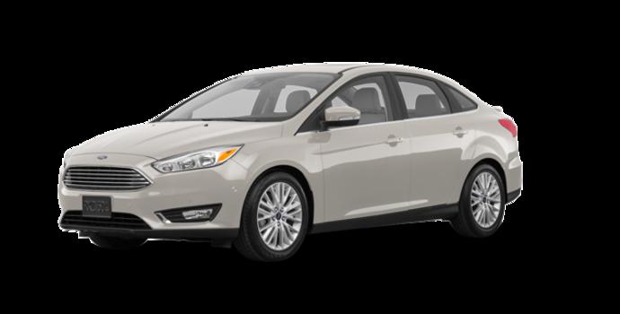 2018 Ford Focus Sedan TITANIUM | Photo 6 | White Gold