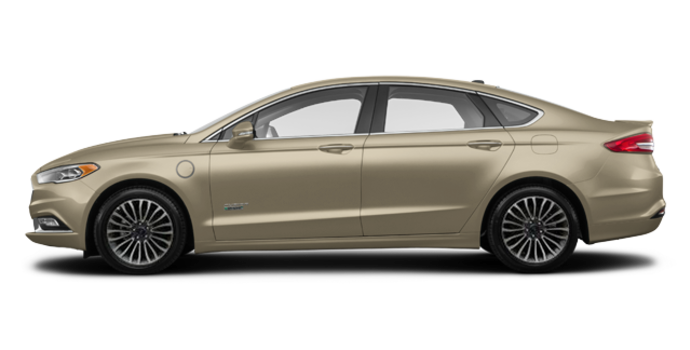 2018 Ford Fusion Energi PLATINUM | Photo 4 | White Gold