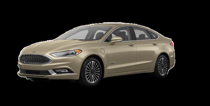 2018 Ford Fusion Energi PLATINUM | Photo 6 | White Gold