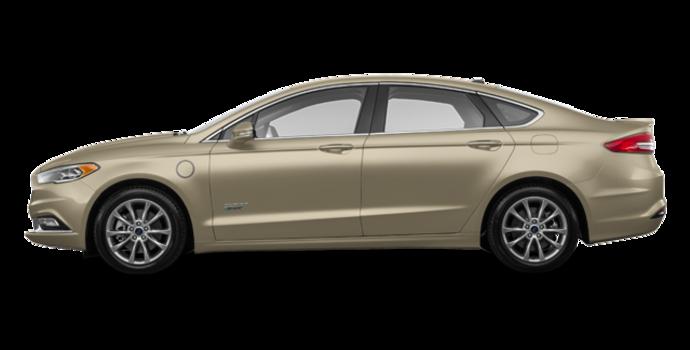 2018 Ford Fusion Energi TITANIUM | Photo 4 | White Gold