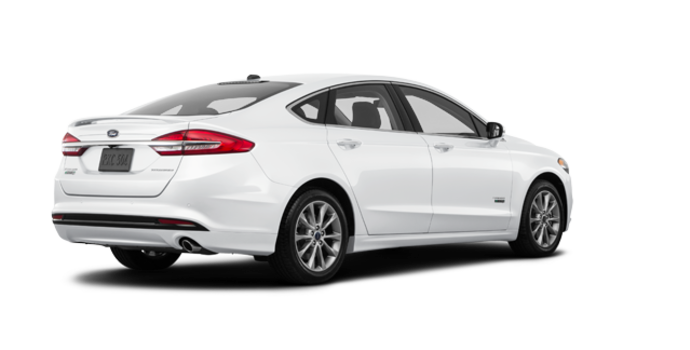 2018 Ford Fusion Energi TITANIUM | Photo 5 | White Platinum