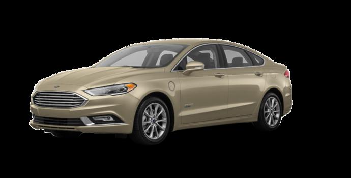 2018 Ford Fusion Energi TITANIUM | Photo 6 | White Gold