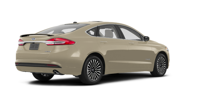 2018 Ford Fusion Hybrid PLATINUM | Photo 5 | White Gold