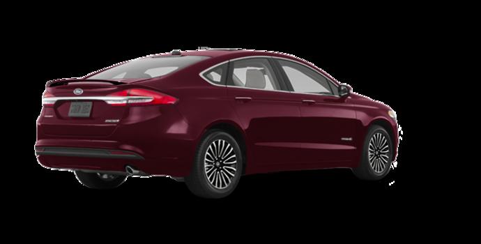 2018 Ford Fusion Hybrid PLATINUM | Photo 5 | Burgundy Velvet