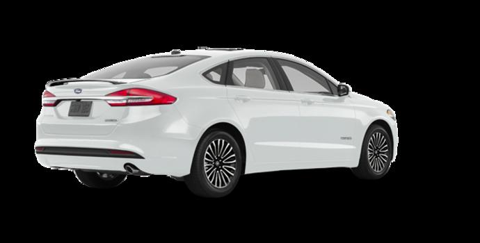 2018 Ford Fusion Hybrid PLATINUM | Photo 5 | White Platinum