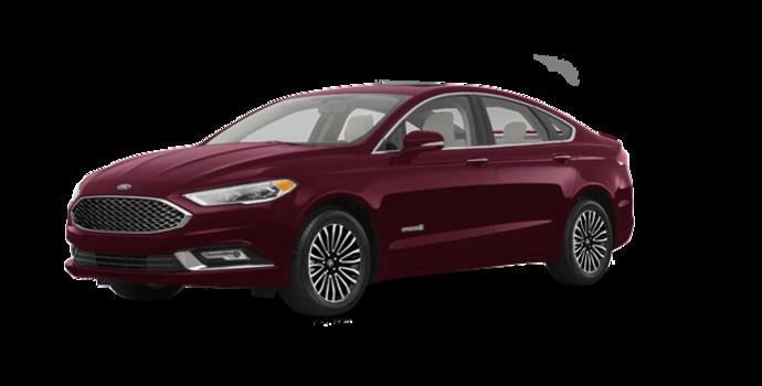 2018 Ford Fusion Hybrid PLATINUM | Photo 6 | Burgundy Velvet