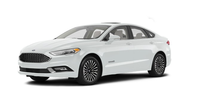 2018 Ford Fusion Hybrid PLATINUM | Photo 6 | White Platinum