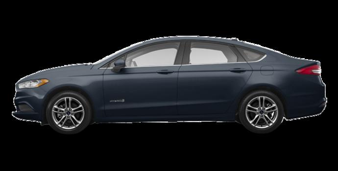 2018 Ford Fusion Hybrid S | Photo 4 | Blue Metallic