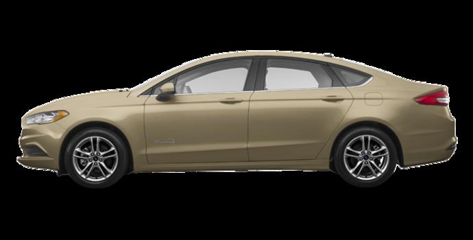 2018 Ford Fusion Hybrid SE   Photo 4   White Gold