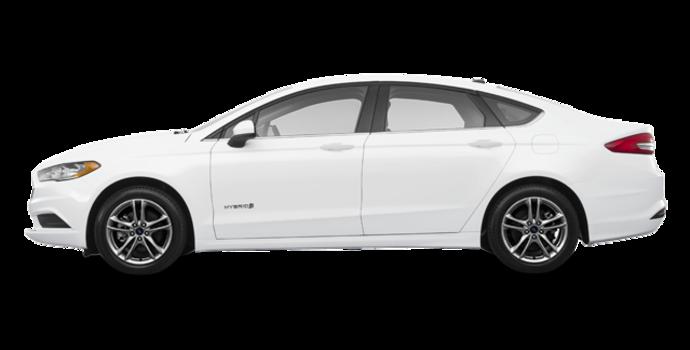 2018 Ford Fusion Hybrid SE   Photo 4   Oxford White
