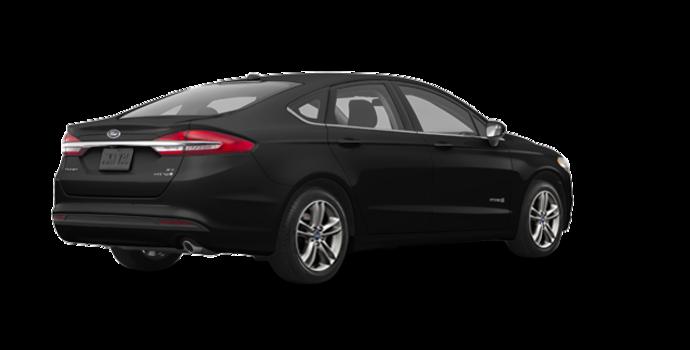 2018 Ford Fusion Hybrid SE   Photo 5   Shadow Blakc