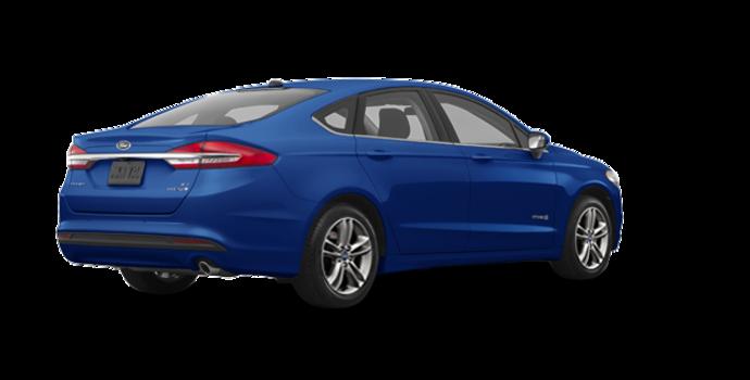 2018 Ford Fusion Hybrid SE   Photo 5   Lightning Blue