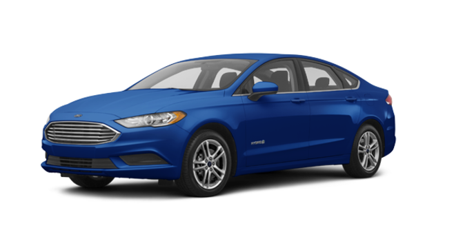 2018 Ford Fusion Hybrid SE   Photo 6   Lightning Blue