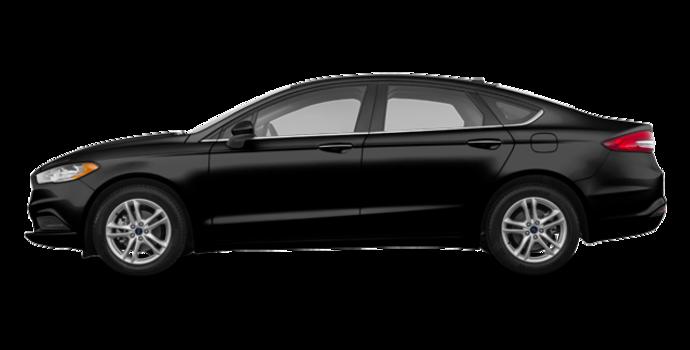 2018 Ford Fusion SE | Photo 4 | Shadow Black