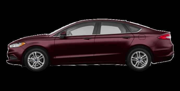2018 Ford Fusion SE | Photo 4 | Burgundy Velvet