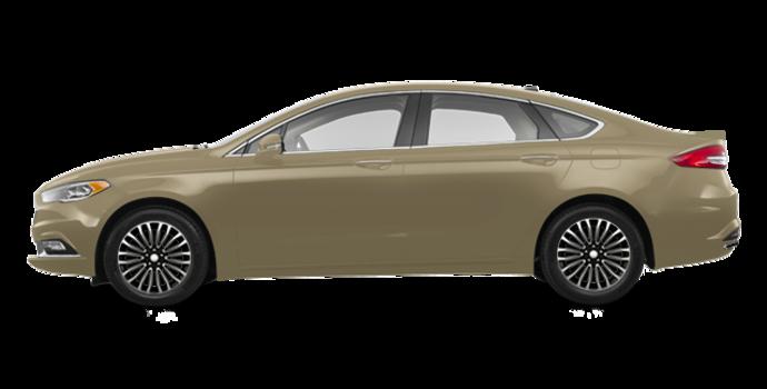 2018 Ford Fusion TITANIUM | Photo 4 | White Gold