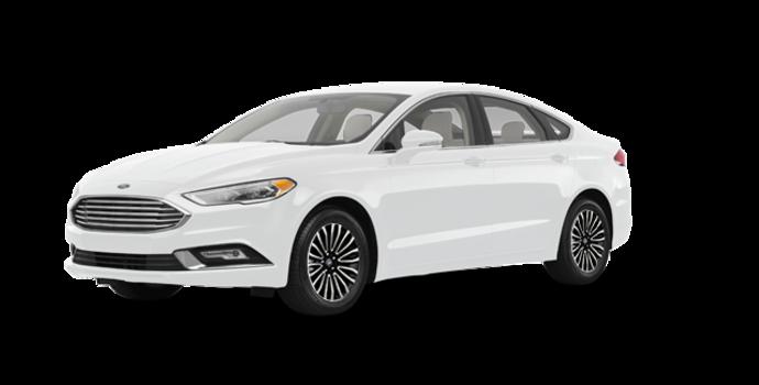 2018 Ford Fusion TITANIUM | Photo 6 | Oxford White