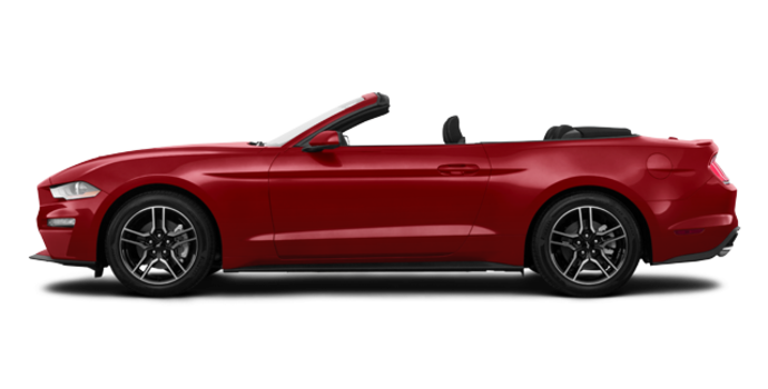 2018 Ford Mustang Convertible EcoBoost | Photo 4 | Ruby Red Metallic Tinted Clearcoat