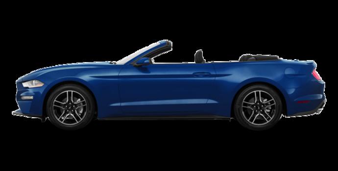 2018 Ford Mustang Convertible EcoBoost | Photo 4 | Lightning Blue Metallic