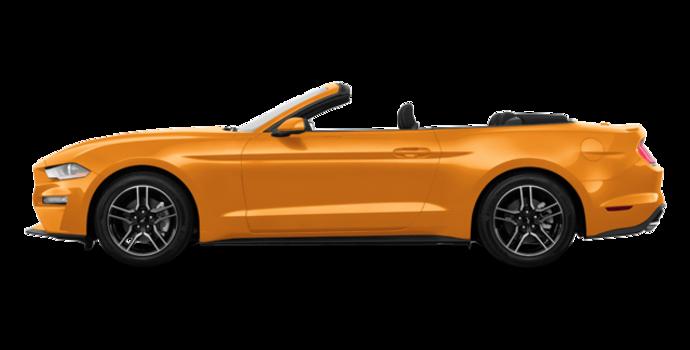 2018 Ford Mustang Convertible EcoBoost | Photo 4 | Orange Fury Metallic Tri-Coat
