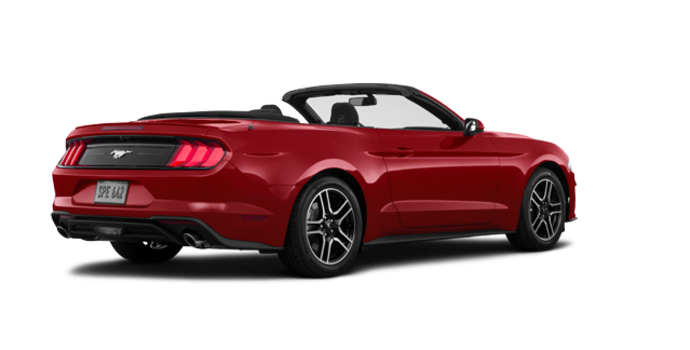 2018 Ford Mustang Convertible EcoBoost | Photo 5 | Ruby Red Metallic Tinted Clearcoat