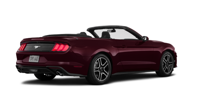 2018 Ford Mustang Convertible EcoBoost | Photo 5 | Royal Crimson Metallic Tinted Clearcoat